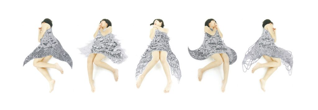 石井七歩(いしいなほ)のアート作品「理想島」