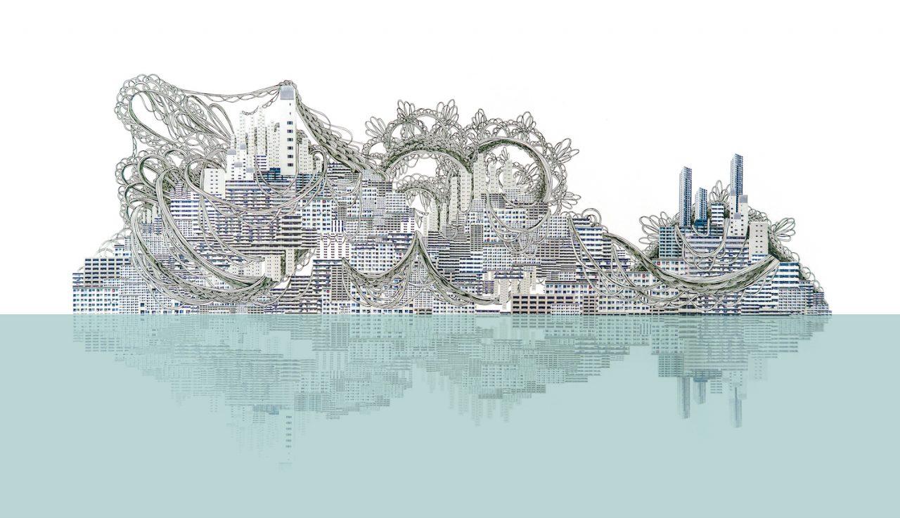 石井七歩(いしいなほ)のアート作品「理想宮(845番街)」