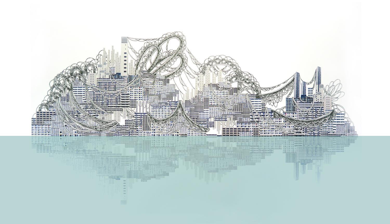 石井七歩(いしいなほ)のアート作品「理想宮(937番街)」