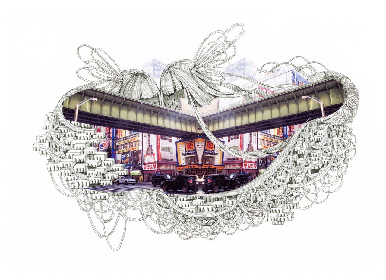 石井七歩(いしいなほ)のアート作品「Tokyo Perfect world(秋葉原)」