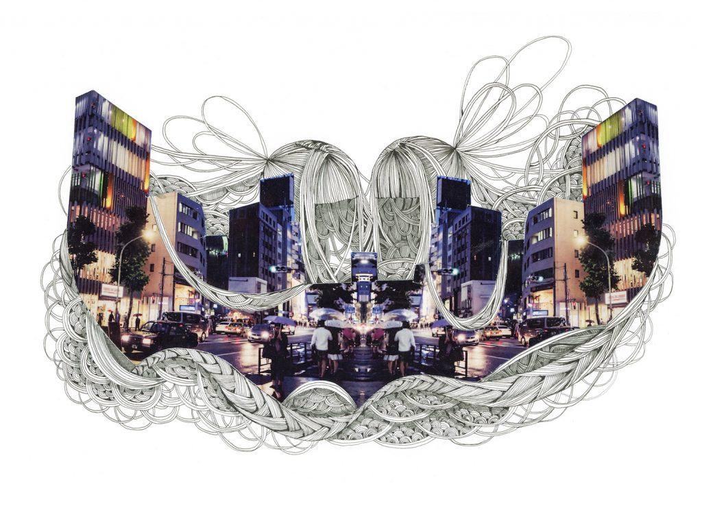 石井七歩(いしいなほ)のアート作品「Tokyo Perfect world(青山)」